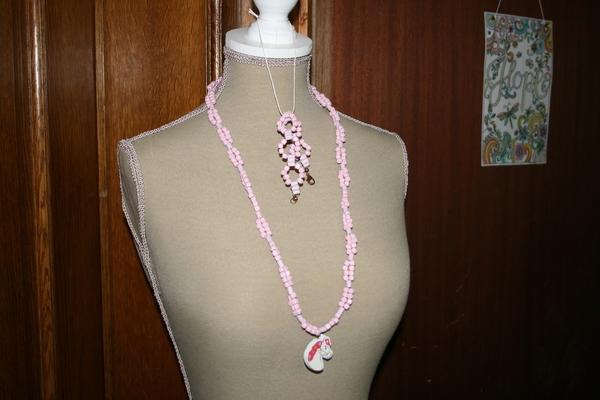 Setje hout (roze)