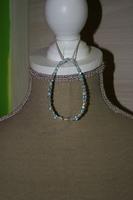 Armband met Facet kristal (op z'n blauw)