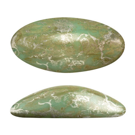Opaque Light Green Turquoise New Picasso  63110-65400