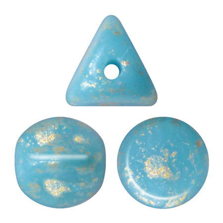 Opaque Blue Turquoise Splash       63030-94401
