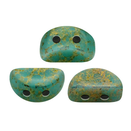 Opaque Green Turquoise Bronze       63130-15496