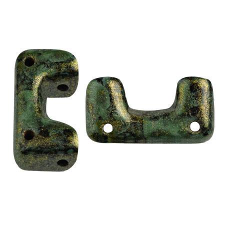 Metallic Mat Green Spotted       23980-65326